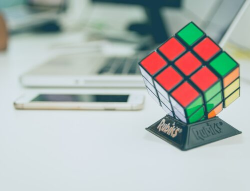 A Rubik's cube is just a cube